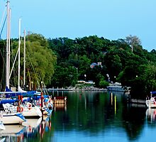 Bayfield Marina by Wendy  Meder