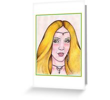 ~ The Sorceress ~ Greeting Card