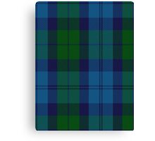 00530 Black Watch (Aljean) Tartan  Canvas Print