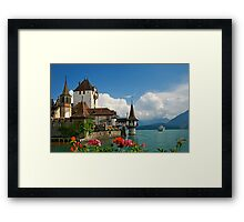Suisse Postcards - 1 Framed Print