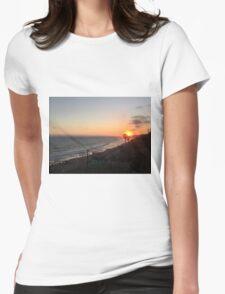 California Sunset Womens Fitted T-Shirt
