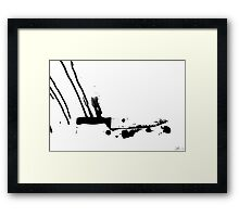 The Sky Is Painted Black Framed Print