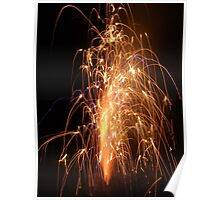 Fountain Firework Poster