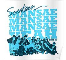 SEVENTEEN MANSAE 2 Poster