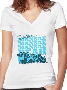 SEVENTEEN MANSAE 2 Women's Fitted V-Neck T-Shirt