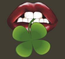Irish Shamrock Lips by Lotacats