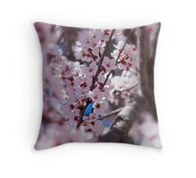 The Trees Think It's Spring Throw Pillow