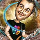 Chris Wolstenholmes Caricature by Iboudesign