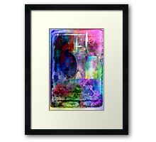 Perspective on Curves that Flow Framed Print