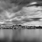 Panorama in Black N White by FOTIS MAVROUDAKIS
