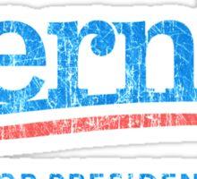Bernie For President B Vintage Sticker