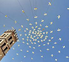 Assisi Piazza del Comune by FOTIS MAVROUDAKIS