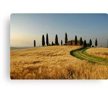 Tuscany Countryside Canvas Print
