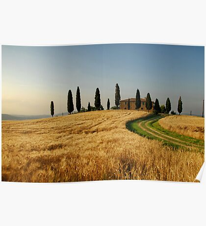 Tuscany Countryside Poster