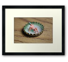 Pleasure Pool Framed Print