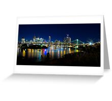 colours of brisbane Greeting Card