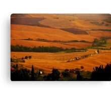 Tuscany panorama Canvas Print