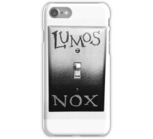 Lumos Nox iPhone Case/Skin