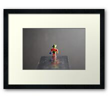 Top Bombing Framed Print