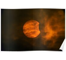 Partial Solar Eclipse Poster