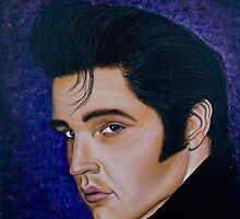 Elvis - Greeting Cards by richardyoung1