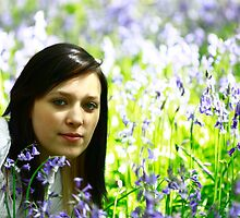 Teen amongst the bluebells by thermosoflask
