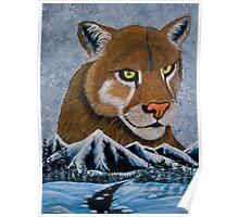 Mountain Lion - Prints & Posters Poster