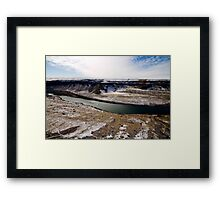 the dropzone Framed Print