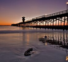 Seal beach pier by Doug Dailey