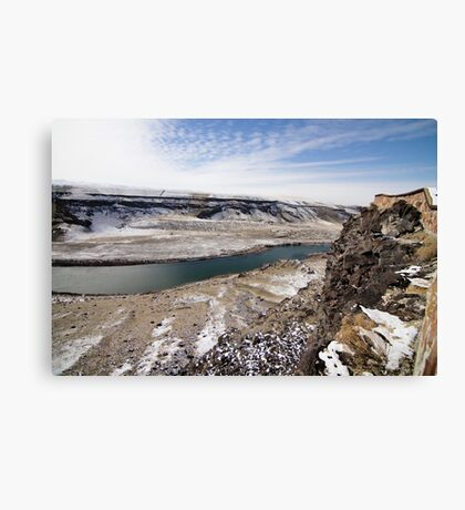 grind Canvas Print