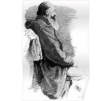Theodor Kittelsen Unknown portrait of man with beard Poster