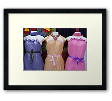 dress you up Framed Print