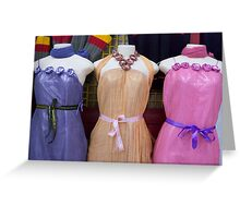 dress you up Greeting Card