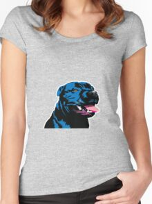 Blue Staffie Women's Fitted Scoop T-Shirt