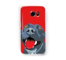Black Staffie Samsung Galaxy Case/Skin