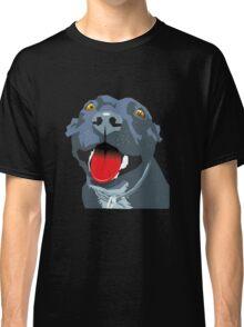 Black Staffie Classic T-Shirt