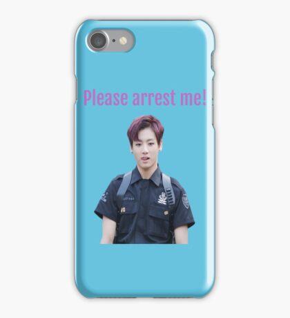 Jungkook - Please Arrest Me iPhone Case/Skin