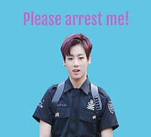 Jungkook - Please Arrest Me by morganm3rry