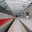 Empty Train Station - Cologne/Bonn Airport by Justin Zuure