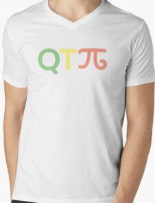Q T Pi #2 Mens V-Neck T-Shirt