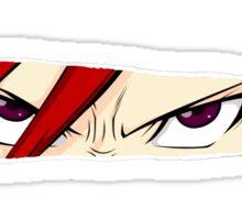 fairy tail erza scarlet titania anime manga shirt Sticker