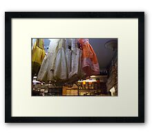 dresses and spices Framed Print