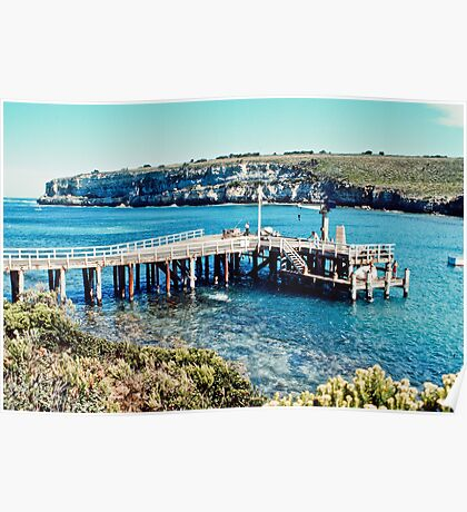 Port Campbell Jetty 197703 Poster