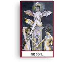 The Devil - Card Metal Print