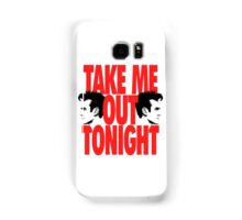 Take Me Out Tonight Samsung Galaxy Case/Skin