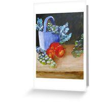 Somber Fruit Greeting Card