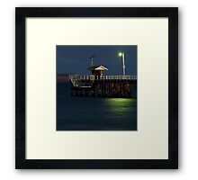 Twilight, Pt Lonsdale Pier Framed Print