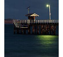 Twilight, Pt Lonsdale Pier Photographic Print