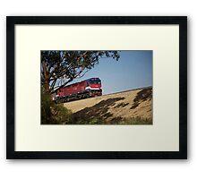 ruralscapes #116, commuter Framed Print