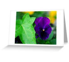 My Blue Flower Greeting Card